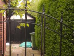 Bespoke Double Gates by Artistry